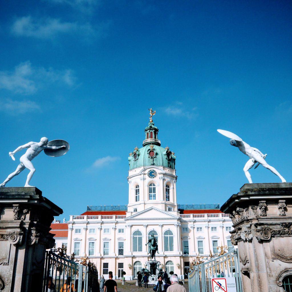 Mit Krusty zum Schloss Charlottenburg